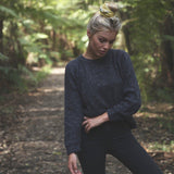 Alpaca Wool Classic Jumpers - Charcoal - The Fair Trader