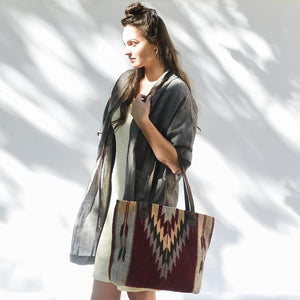 Ochre + Ash Tote - The Fair Trader