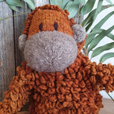 Homespun Wool Orangutan - The Fair Trader