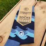 Socks That Protect Oceans - Waves - The Fair Trader