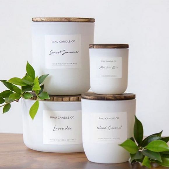 Riau Aromatherapy Candles - Small - The Fair Trader
