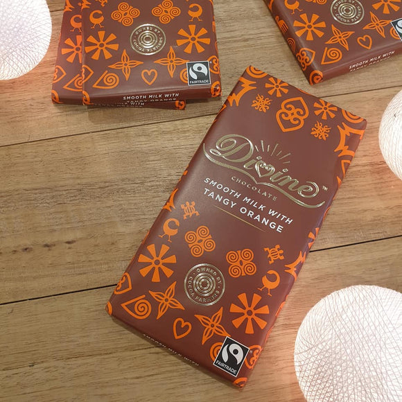 Smooth Milk Chocolate with Tangy Orange - The Fair Trader