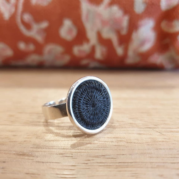 Classic Silver Ring - Black - The Fair Trader