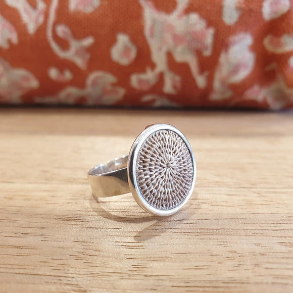 Classic Silver Ring - Oyster - The Fair Trader