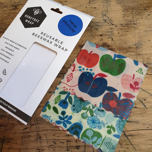 Beeswax Food Wraps - 2 Pack Small & Medium - The Fair Trader