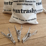Stainless Steel Pegs - 20 Pk - The Fair Trader