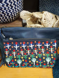 Rosie Ngwarrin Ross 'Bush Medicine' Clutch - The Fair Trader