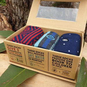 Socks That Fight Poverty Collection II - Box of 3