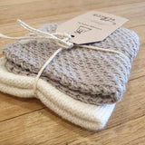 Baby Washcloth 2 Pack - Cotton - The Fair Trader
