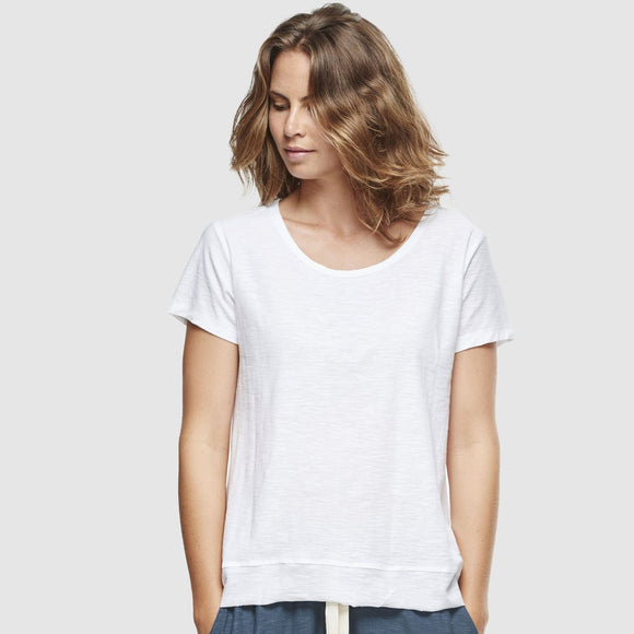 Slub T-Shirt - White - The Fair Trader