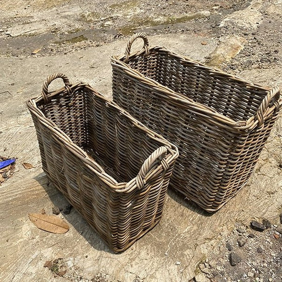 Rattan Kubu Narrow Baskets