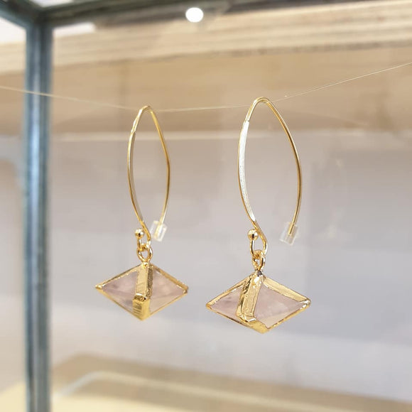 Desert Rose Drop Earrings