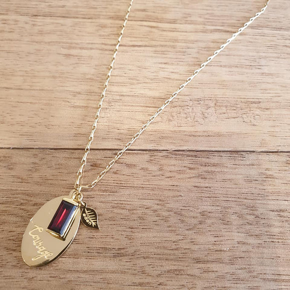 Take Courage Necklace - The Fair Trader