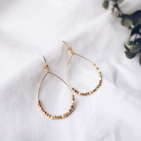 Spirited Celebration Hoop Earrings - The Fair Trader