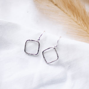 Spirited Little Rania Earrings - Silver - The Fair Trader