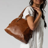 Half Moon Laali Leather Handbag - The Fair Trader