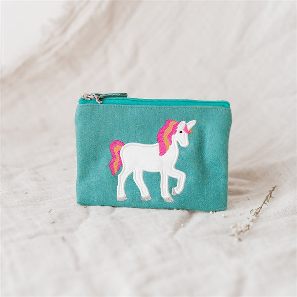 Unicorn Felt Purse - The Fair Trader