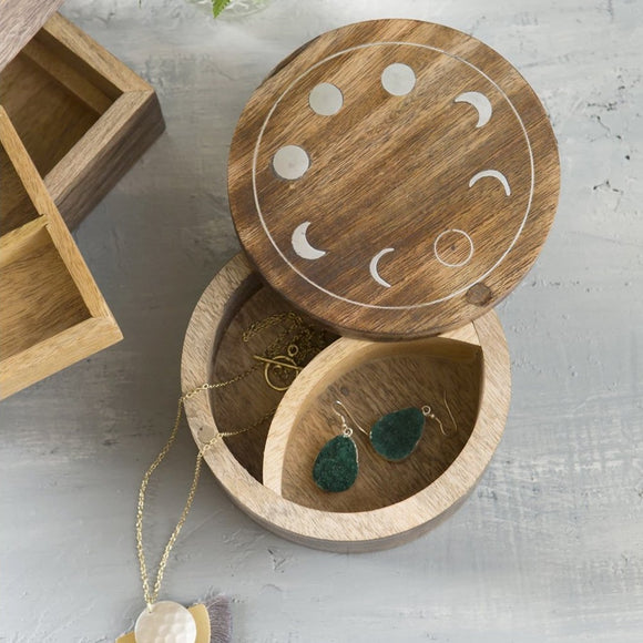 Indukala Wooden Pivot Box - The Fair Trader