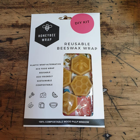 Beeswax Food Wraps - DIY Starter Kit - Medium - The Fair Trader