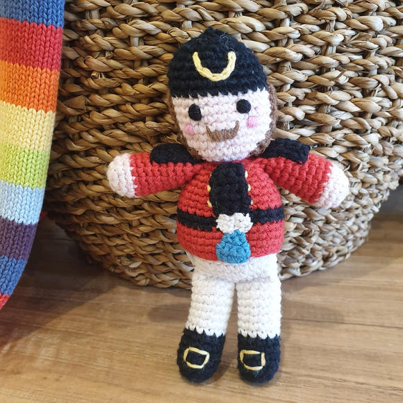 Nutcracker Soldier Rattle