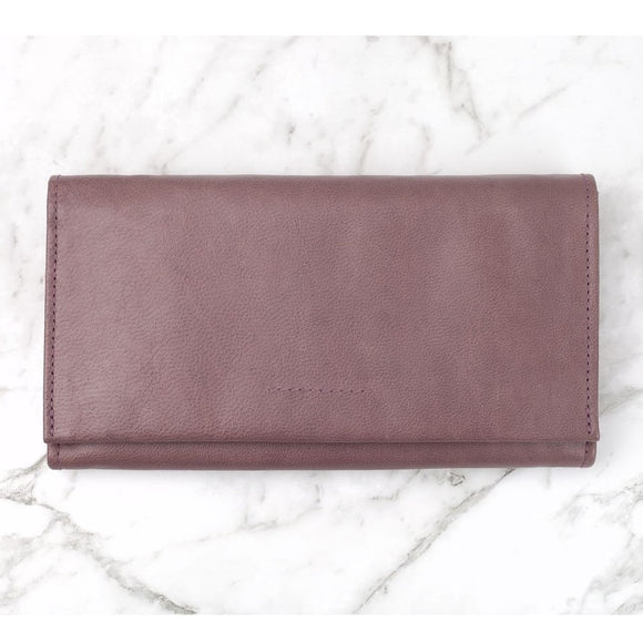 Eva Wallet - Mulberry - The Fair Trader