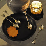 Stainless Steel Heart Teaspoon Set