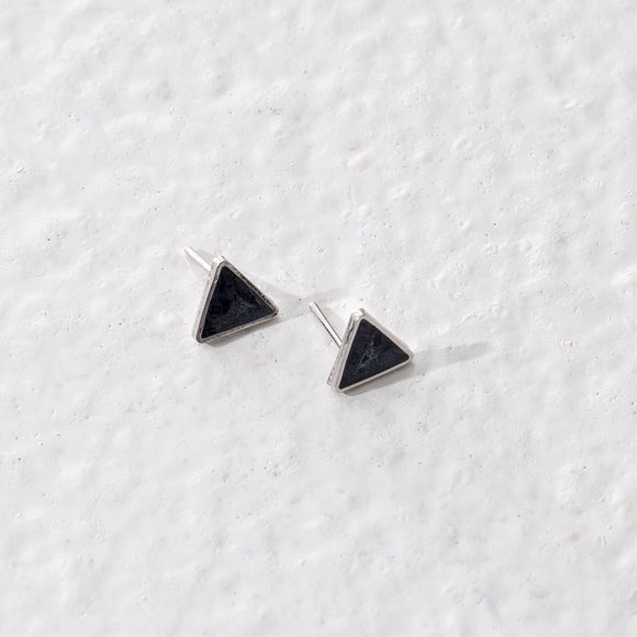 Taarika Earrings - Pearl Grey - The Fair Trader