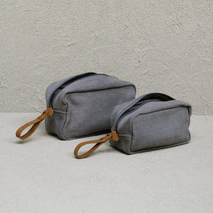 Toiletry Bag Large - Ash - The Fair Trader
