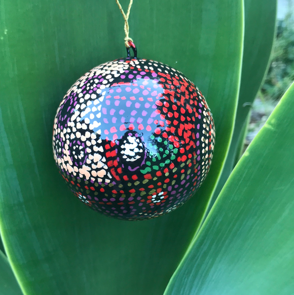 Indigenous Art Christmas Bauble - Julie Wood - The Fair Trader