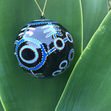 Indigenous Art Christmas Bauble - Theo Nangala Hudson - The Fair Trader