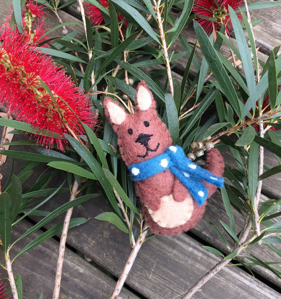 Kangaroo Christmas Decoration