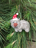 Wombat Christmas Decoration