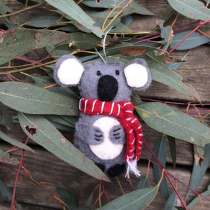 Koala Christmas Decoration