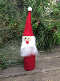Red Santa Shelf Decoration