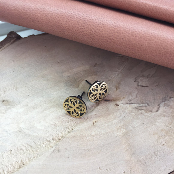 Maile Stud Earrings