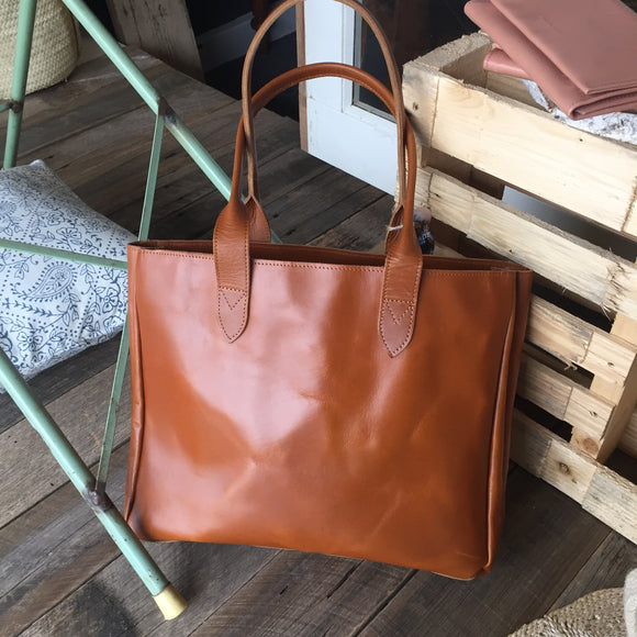 With Love Leather Tote