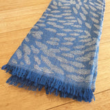 Daphne Napurrula Marks 'Yalka Dreaming - Bush Onion' Fine Modal Scarf - The Fair Trader