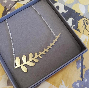 Fern Necklace - The Fair Trader