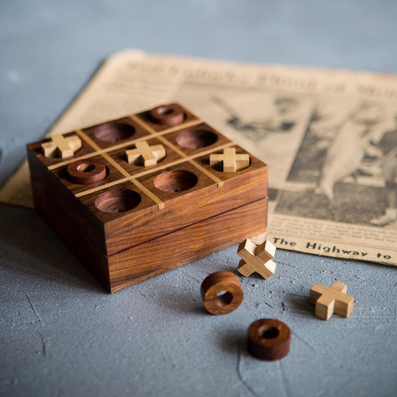 Rosewood Noughts and Crosses - The Fair Trader