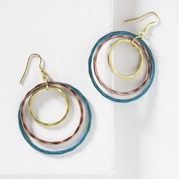 High Vibration Vitana Earrings - The Fair Trader