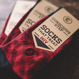 Socks That Treat HIV II - Crosshatch - The Fair Trader