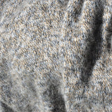 Greek Key Trim Alpaca Wool Jumper