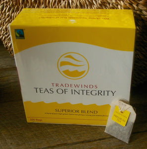 Tradewinds fair trade black tea
