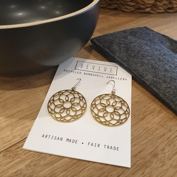 Mandala Earrings - The Fair Trader