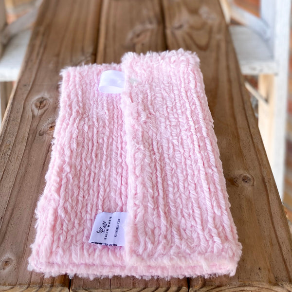 RTS Blush Chenille Double Luxe Lovey