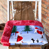 Easy Order North Pole Luxe Snuggle Blanket