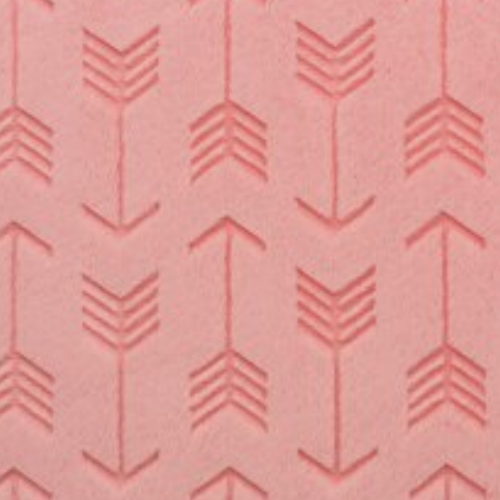 Coral Embossed Arrows