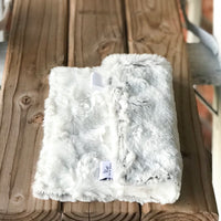 RTS Silver Frost & Natural Hide Luxe Lovey