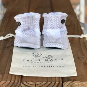 Toddler - Oakley Minky Booties