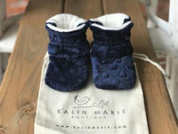 Toddler - Ryan Minky Booties